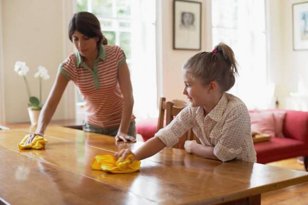 как правильно ухаживать за полированной мебелью