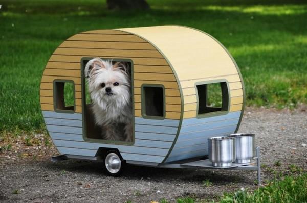 Будка-прицеп для собаки фото