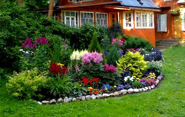 Планирование клумб и цветников на участке