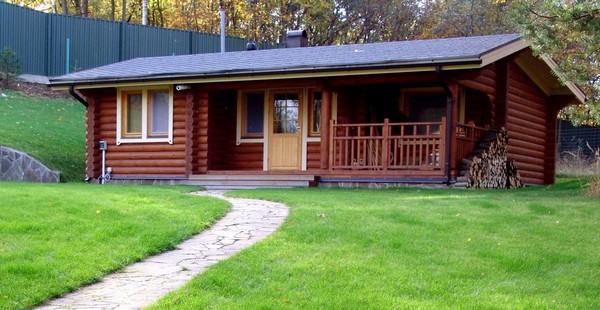 Планировка участка с домом, баней и гаражом