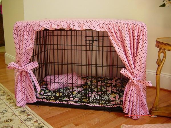 вольер для маленьких собак в квартире