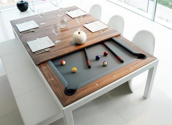 Обеденно-бильярдный стол