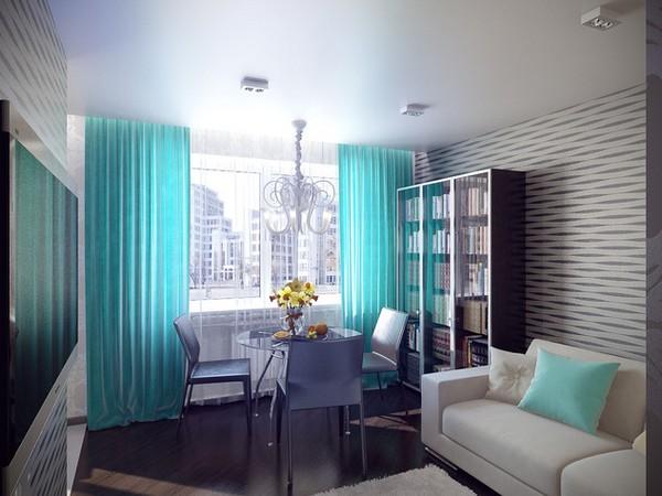 дизайн однокомнатной квартиры-хрущевки фото