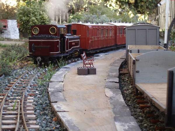 Железная дорога на приусадебном участке