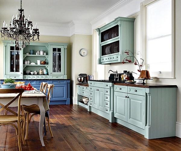 Расстановка мебели по фен шуй кухня