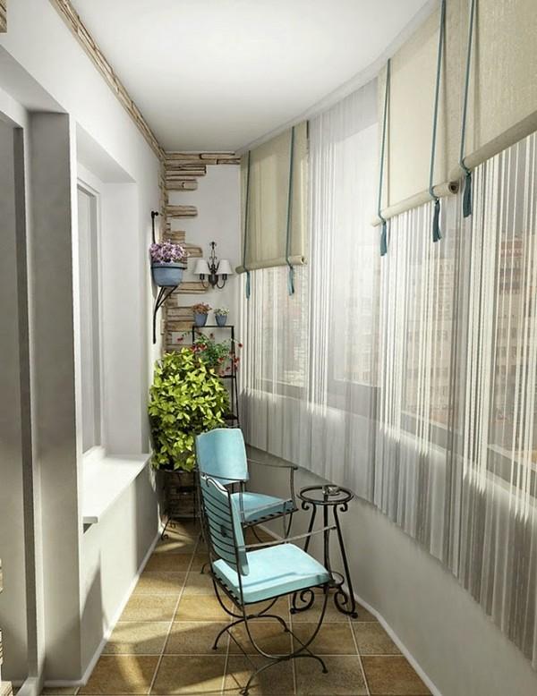 Полукруглый красивый балкон фото