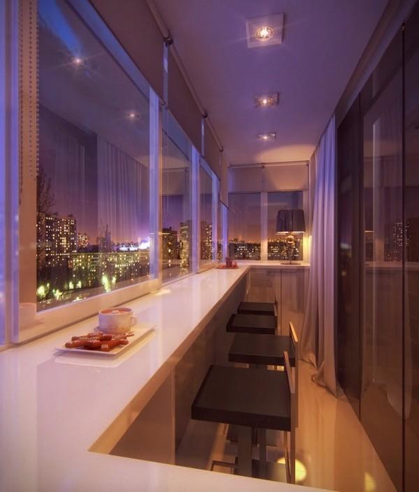красивые лоджии и балконы фото