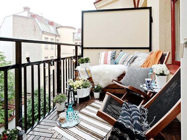 красивые балконы в квартире фото