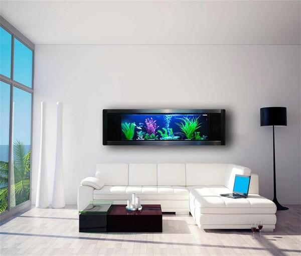 Электронный аквариум на стену
