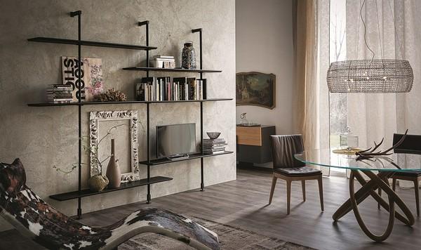 Квартира в индустриальном стиле фото