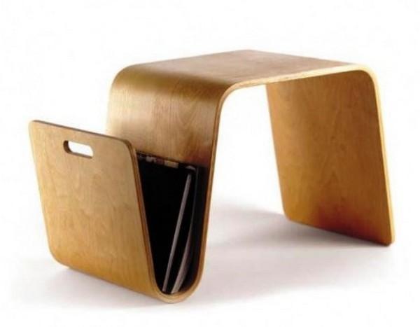 Приставной столик с местом для журналов