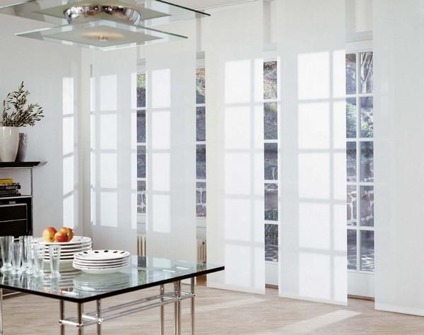 Японские панели для кухни с балконом