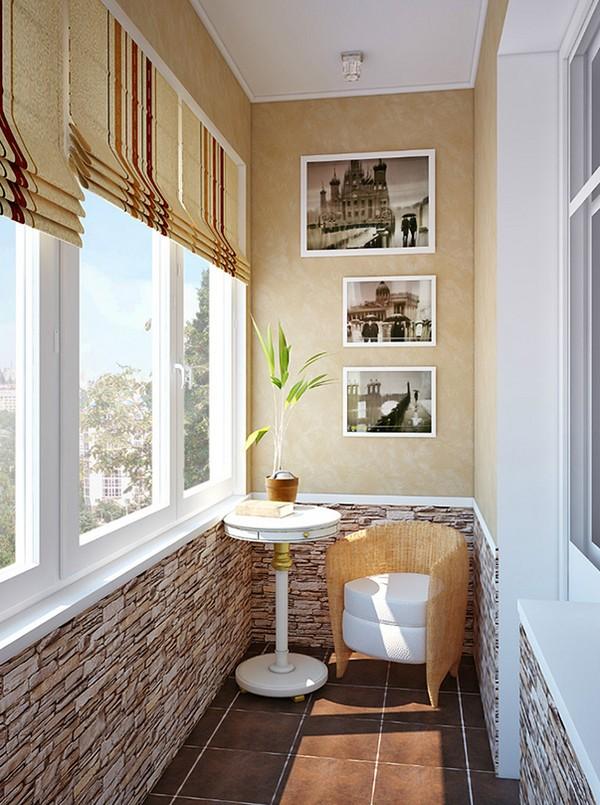 Шторы для балкона фото