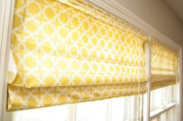 Римские шторы на балконе фото