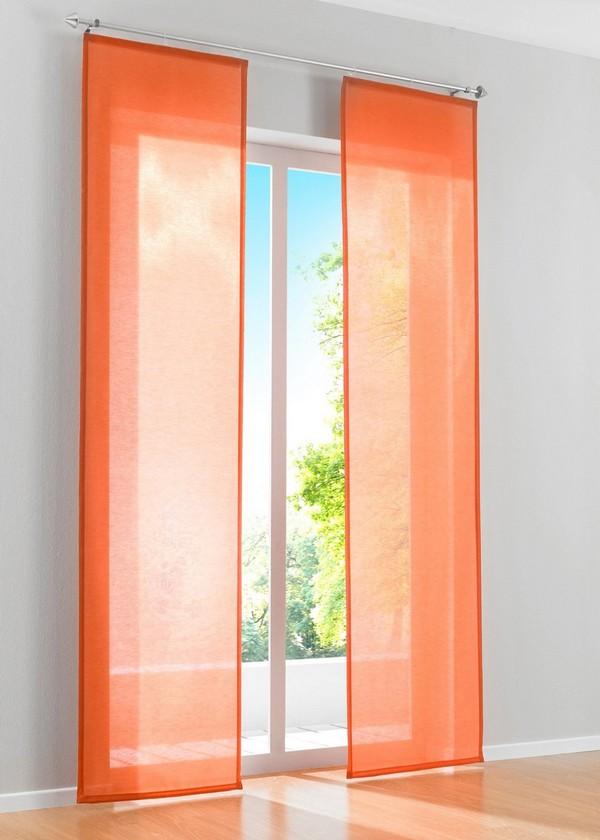 Японские шторы на балконную дверь фото