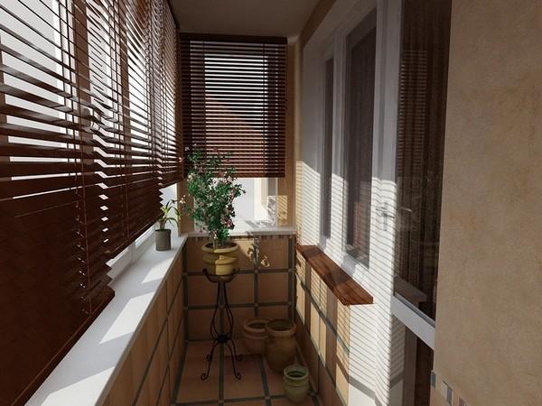 Дизайн жалюзи для балконов и лоджий