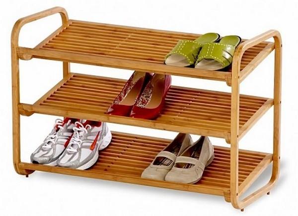 Простая этажерка под обувь