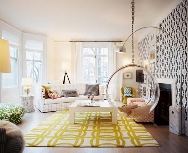 подвесное кресло bubble