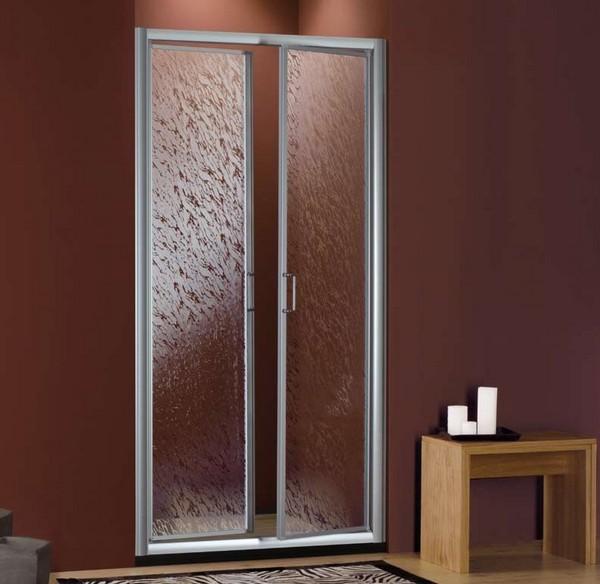 дверь маятниковая алюминиевая