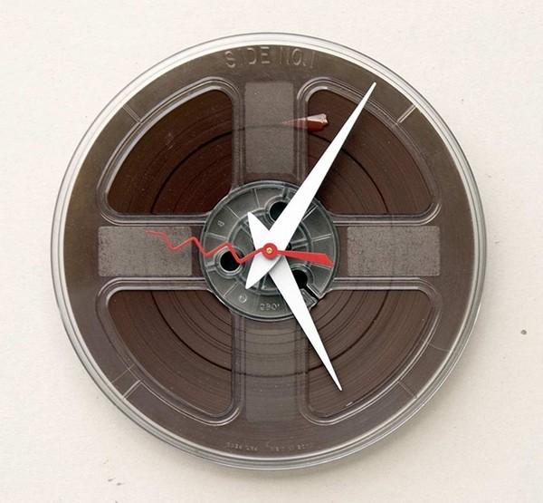 необычные настенные часы фото