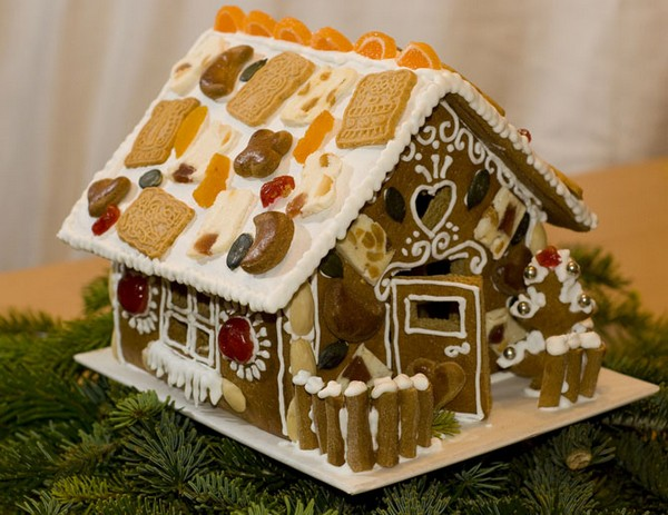 как сделать пряничный домик своими руками