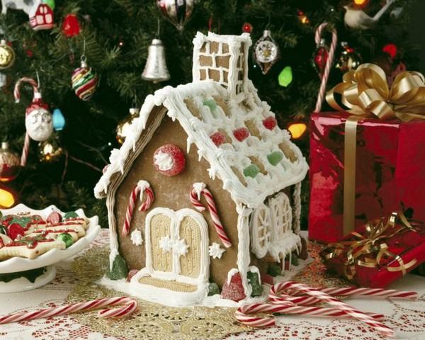 как сделать пряничный домик на новый год