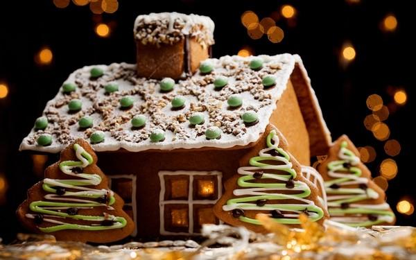 Как сделать домик из печенья своими руками