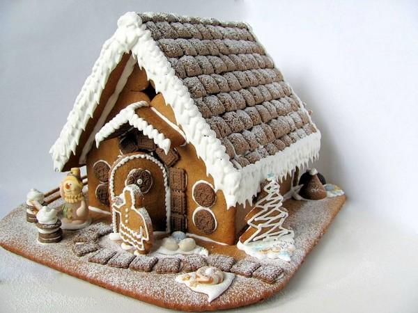 Как сделать красивый и вкусный пряничный домик своими руками