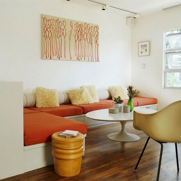 Кухонный угловой модульный диванчик