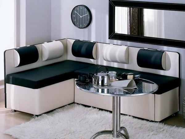 Кухонный модульный диван фото