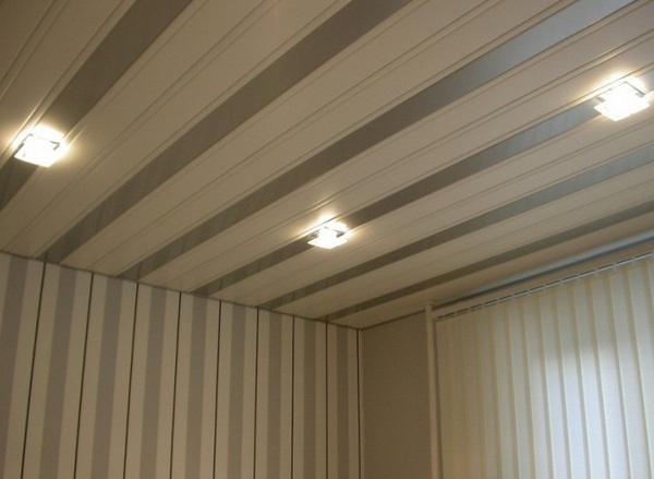 пластиковые панели для потолка фото