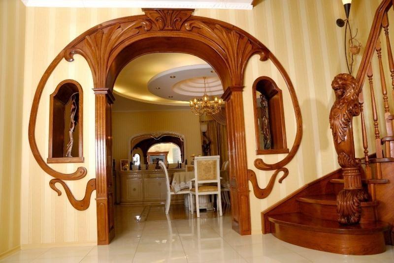 Как сделать своими руками в домашних условиях межкомнатную арку