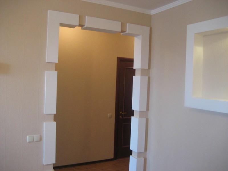 Дизайн проема двери