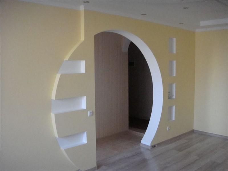 отделка межкомнатных арок фото