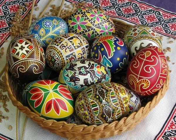 как разукрасить деревянное пасхальное яйцо