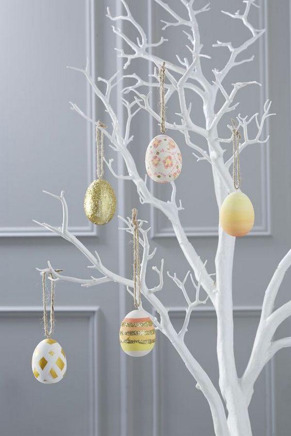 Декоративное пасхальное дерево фото
