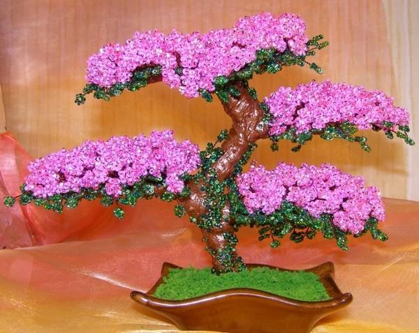 пасхальное дерево из бисера