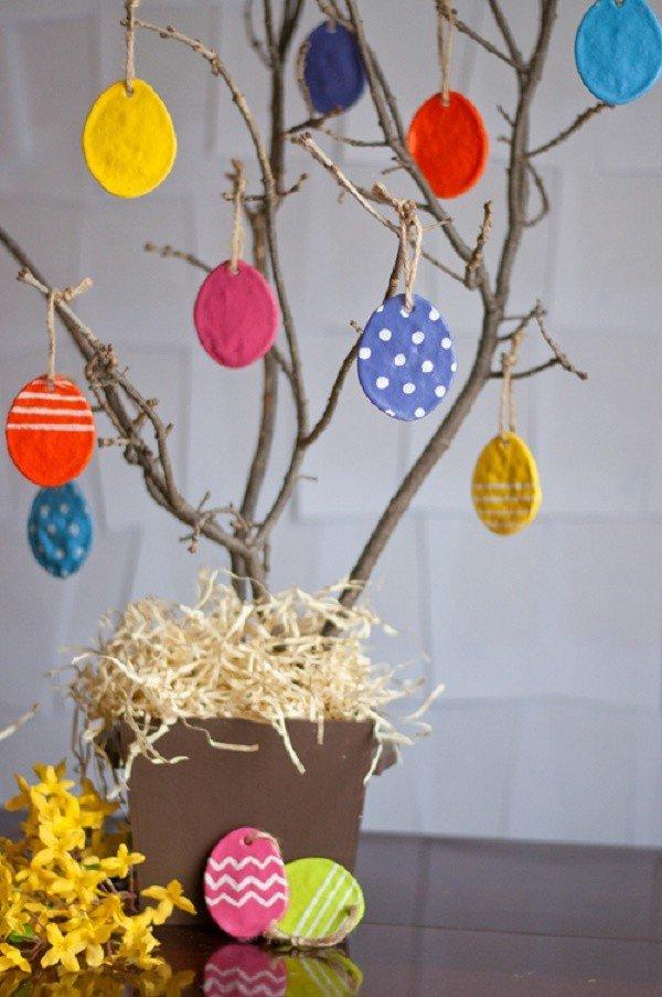Декоративное пасхальное дерево