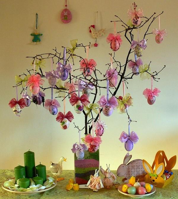 Традиционное дерево на Пасху