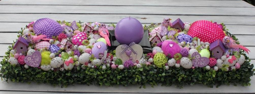 Красивый пасхальный декор 2016 года