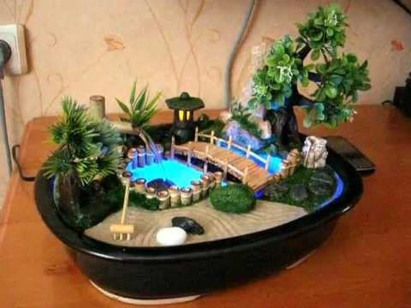 Как в домашних условиях сделать мини фонтан своими руками