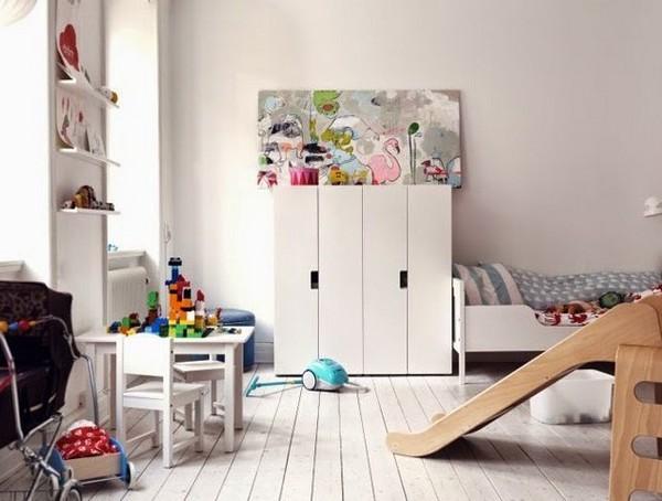украшение детской комнаты в скандинавском стиле