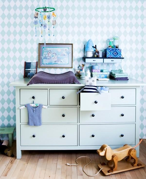 Мебель для детской комнаты в скандинавском стиле