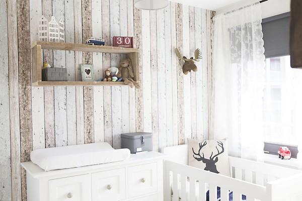 Детская кроватка в скандинавском стиле