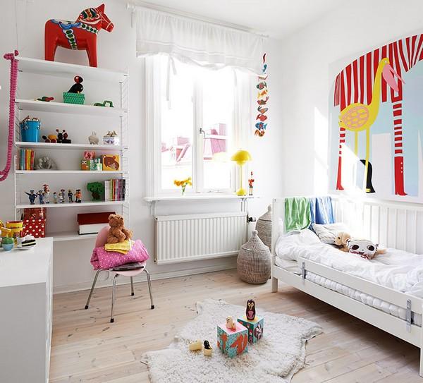 Кровать Икеа в скандинавском стиле