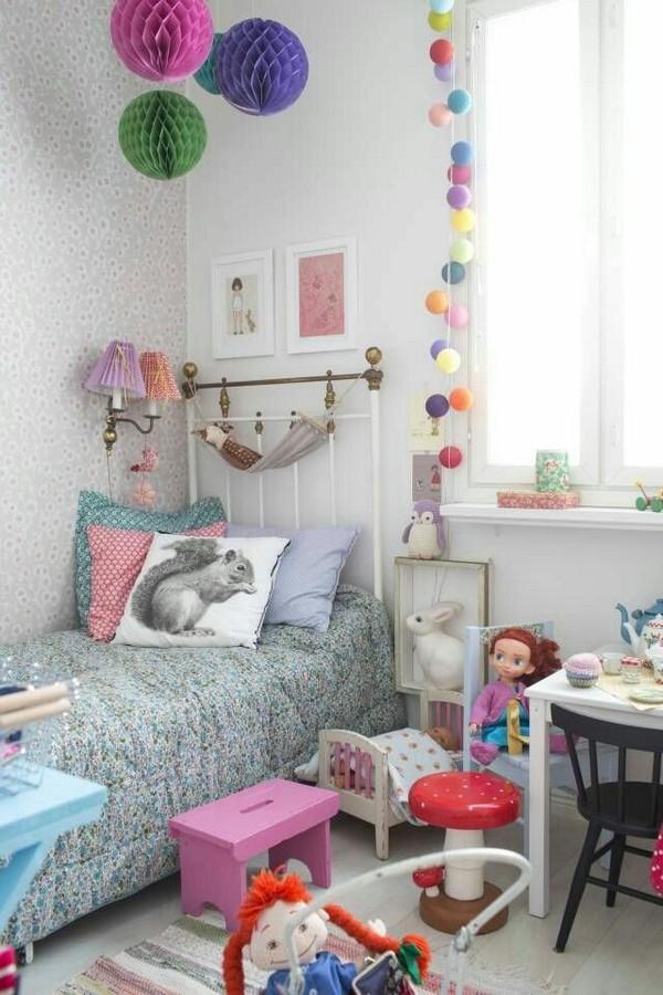 Металлическая детская кровать в скандинавском стиле