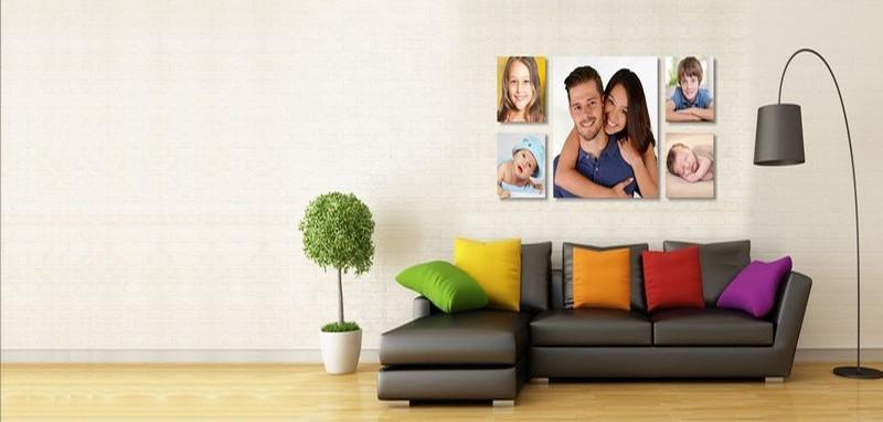 фотографии семьи на холсте фото