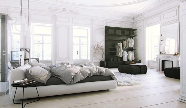 Мебель для спальни в скандинавском стиле
