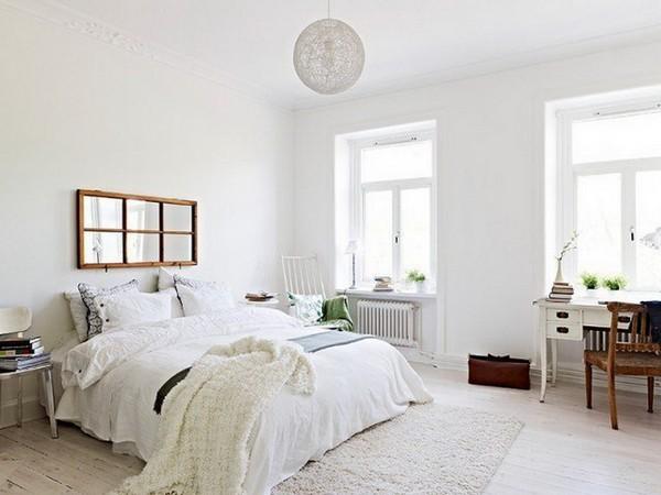 Лампа-сфера для скандинавской спальни