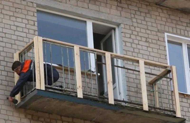 Сайдинг балкона своими руками